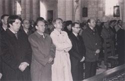 50eme anniversaire de la mort de Max Jacob, messe solennelle